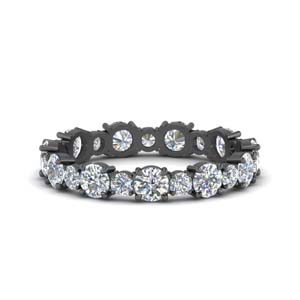 1.50 Ct. Diamond Black Gold Band