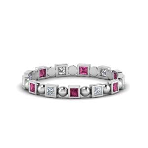 Half Ct. Princess Cut Eternity Band