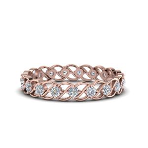 Half Carat Kite Eternity Ring