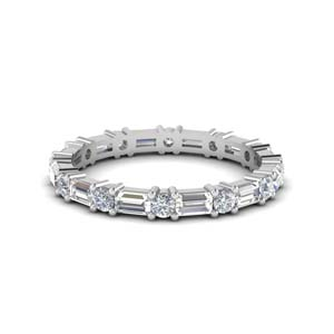 1.25 Ct. Baguette Diamond Band
