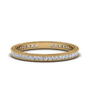 0.50 Ct. Antique Channel Eternity Band