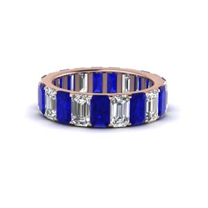 Classic Sapphire Wedding Band