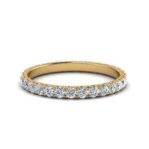 0.75 Ct. Round Eternity Wedding Band