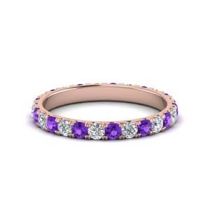 1 Ct. Classic Purple Topaz Band