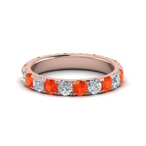 2 Ctw. Rose Gold Eternity Band