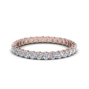 Shared Prong 0.75 Ct. Eternity Band