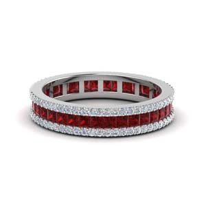 Ruby And Diamond Vintage Band