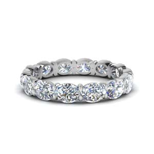 3 Carat Oval Eternity Ring