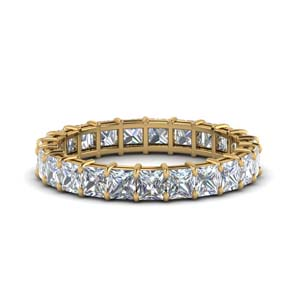 4 Ct. Princess Cut Diamond Band