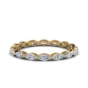 Eternity Band 14K Yellow Gold