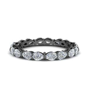 Pear Diamond Eternity Band 2.70 Ct.