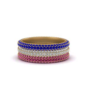 Micro Pave Diamond Stacking Ring