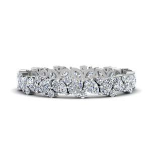 1.50 Ct. Pear Eternity Band