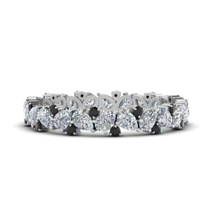 Platinum 1.50 Ct. Pear Eternity Band