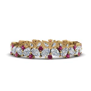 1.50-ct.-pear-eternity-diamond-band-with-pink-sapphire-in-FDEWB9203GSADRPI-NL-YG