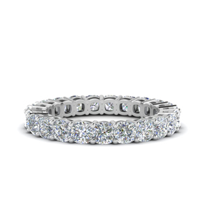 Cushion Cut Eternity Band (3.5 carat)