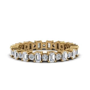 Alternating Eternity Diamond Band