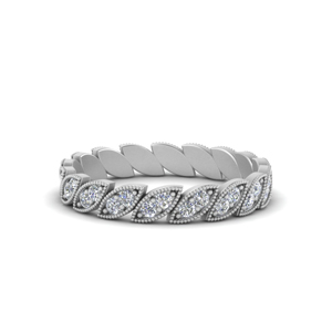 Milgrain Marquise Eternity Ring