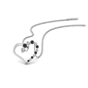 Black Diamond Pendant For Women