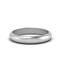Comfort Fit Matte Finish Wedding Ring