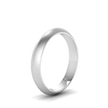 simple plain wedding band 4mm in FDKER7BANGLE24MM NL WG