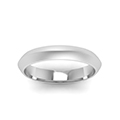 simple plain wedding band 4mm in FDKER7BANGLE54MM NL WG