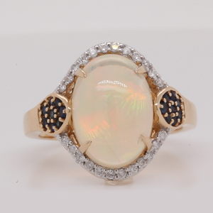 Opal Wedding Rings
