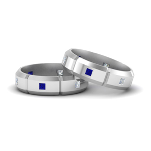 Princess Cut Wedding Bands For Gay