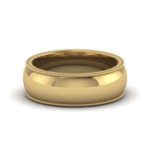 Matte Finish Wedding Band