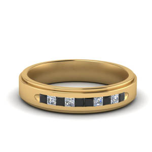 Channel Mens Flat Ring