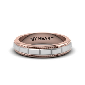 Custom Engraved Ring For Him