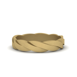Gold Wedding Band For Male