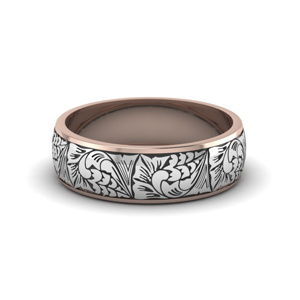 Intricate Pattern Band For Male