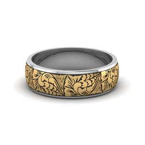 Intricate Pattern Band For Him