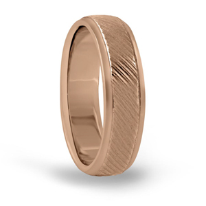 Mens Engraved Wedding Band