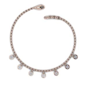 Charm Choker Diamond Necklace