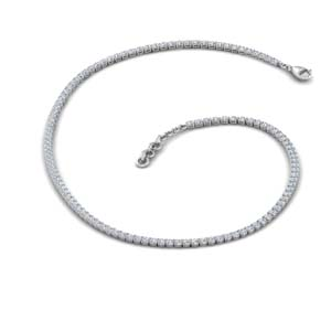 3.50 Ct. Tennis Diamond Necklace