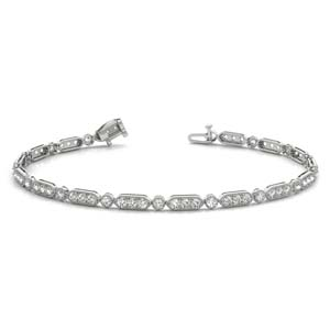 Tennis Pave Diamond Bracelet