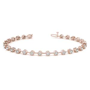 Bezel Diamond Bracelet