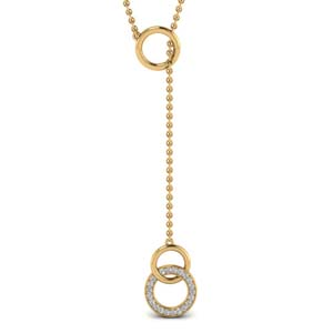 Y Design Diamond Necklace