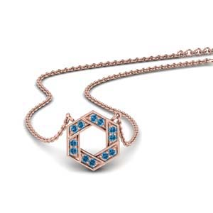 Topaz Necklace For Women
