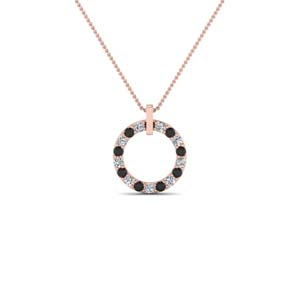 Black Diamond Necklace For Women