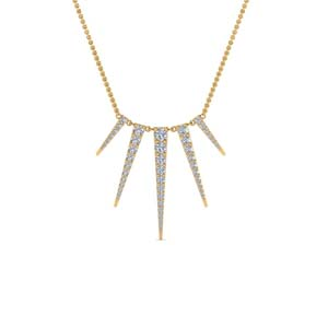Art Deco Graduated Diamond Necklace