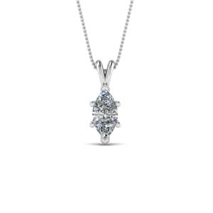 Single Diamond Pendants For Her