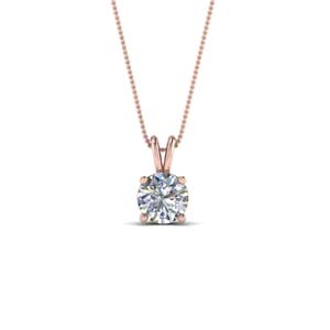 0.5 Ct. Diamond Solitaire Pendant