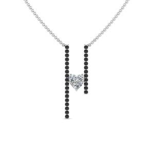 Black Diamond Floating Pendant