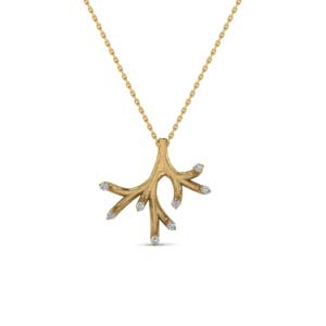 Antique Diamond Branch Pendant