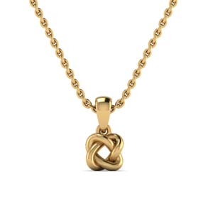 14K Yellow Gold Necklaces for Women