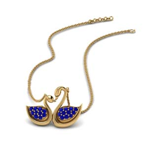 Duck Design Mothers Necklace
