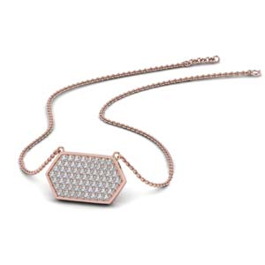 Pave Diamond Necklace